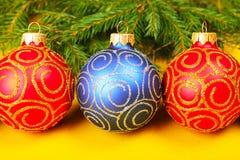 Baubles рождества стоковое изображение