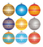 Baubles Stock Photo