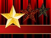 baubles bożych narodzeń gwiazda Obrazy Royalty Free