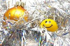 baubles bożych narodzeń uśmiech Obrazy Stock