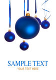Baubles - christmas decoration Stock Images