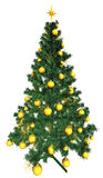 Baubles on Christmas tree Royalty Free Stock Photo