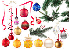 Baubles collection Royalty Free Stock Photography