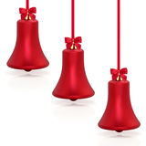 Baubles de Bell de Natal Foto de Stock Royalty Free
