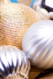 Baubles detail Royalty Free Stock Images