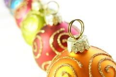Baubles do Natal Foto de Stock