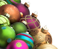 Baubles do Natal Imagem de Stock
