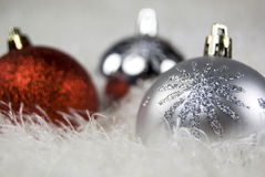 Baubles do Natal Foto de Stock Royalty Free