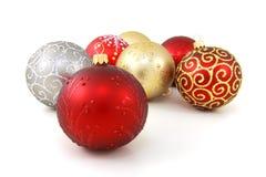 Baubles do Natal Imagens de Stock
