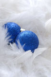 Baubles and Feathers Stock Image