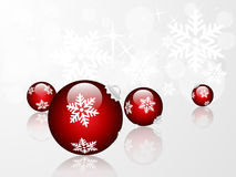 Baubles illustration Royalty Free Stock Image