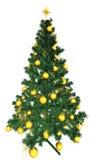 Baubles på julgran Royaltyfri Foto
