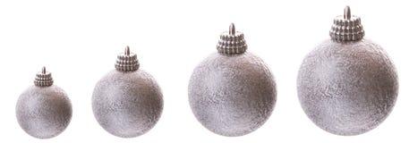 baubles wzrastający srebro Fotografia Royalty Free