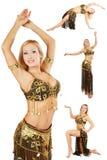 Bauch-tanzen Sie Lizenzfreie Stockbilder