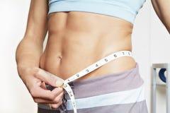 Bauchmessen Stockbild