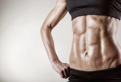 Bauchmuskeln Stockfotos