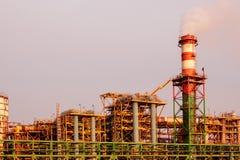 Baudetails der Chemiefabrik Lizenzfreie Stockfotografie