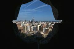 Bauelemente von Barcelona Stockfotografie