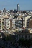 Bauelemente von Barcelona Lizenzfreie Stockfotos