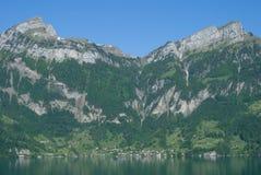 Bauen, luzerne de lac, canton de luzerne, Suisse Images stock