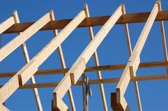 Bauen Sie das Dach auf Stockfotos