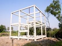 Bauen Sie ein Haus Stockfotos