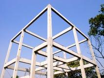 Bauen Sie ein Haus Lizenzfreies Stockfoto