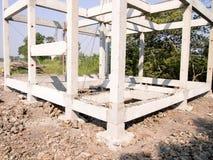 Bauen Sie ein Haus Lizenzfreies Stockbild