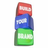 Bauen Sie Ihren Geschäfts-Vermarktungsplan Brand Company auf Lizenzfreie Stockfotos