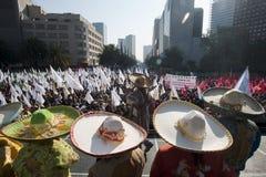 Bauern ` Demonstration Lizenzfreie Stockfotos