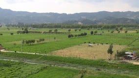 Bauernhöfe, Ackerland, Landwirtschaft, Lebensmittel stock footage