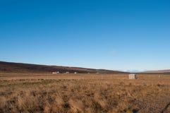 Bauernhöfe in Nord-Island Stockfotos