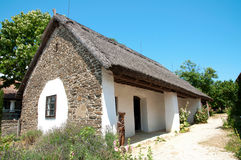 Bauernhaus in Tihany, Ungarn Stockfoto
