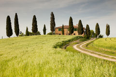 Bauernhaus in Toskana Stockfoto