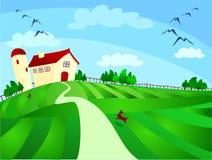 Bauernhof vektor abbildung