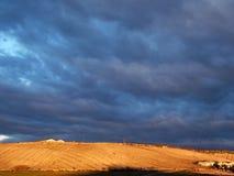 Bauernhof auf Weinberg, Jerez Stockfotos