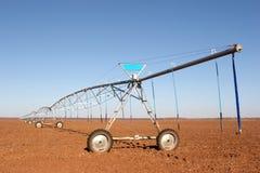 Bauernhof-Bewässerung stockfoto