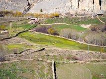 Bauernhof in der ländlichen Region Lizenzfreie Stockfotos