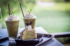 Bauernhof des grünen Tees Lizenzfreies Stockbild