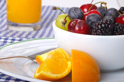 Bauernhof-frische Früchte Stockbild