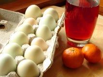 Bauernhof-frisches Frühstück Stockbilder