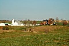 Bauernhof-Gehöft stockfoto