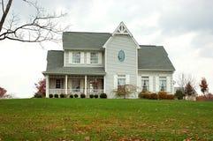 Bauernhof-Haus im Herbst Lizenzfreie Stockfotografie