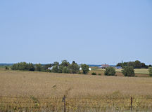 Bauernhof im Fall Lizenzfreie Stockbilder