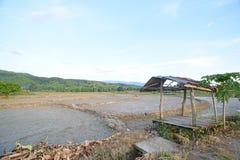 Bauernhof im Sommer Stockfotografie