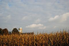 Bauernhof in Lancaster-PA Lizenzfreie Stockfotos