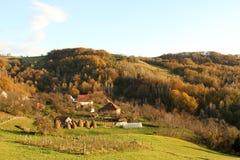 Bauernhof in Serbien Lizenzfreie Stockfotografie