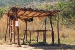 Bauernhof-Stall Afrika Stockbild