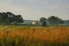Bauernhof-Szene Stockfotografie