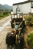 Bauernhof-Traktor in Luoyang Lizenzfreies Stockbild